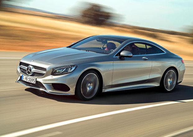 Mercedes-Benz S Coupé oficiálně: Dvojice dveří a 503 centimetrů
