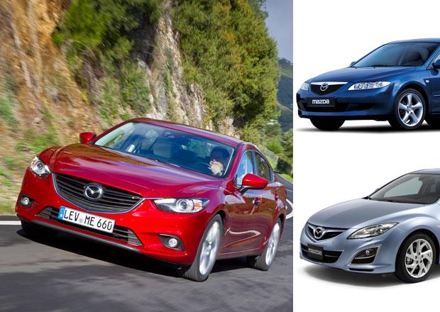 Mazda 6 (2002-dosud): Životopis elegantních sportovců
