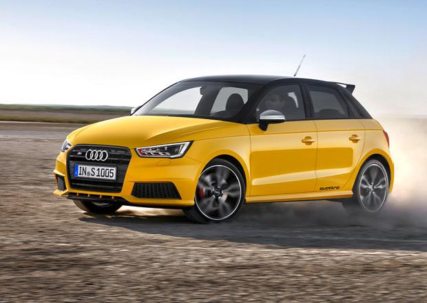 Audi S1 a S1 Sportback: 2.0 TFSI, quattro a 170 kW