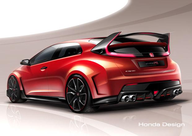 Honda Civic Type R Concept: Hardcore hot-hatch se představí v Ženevě