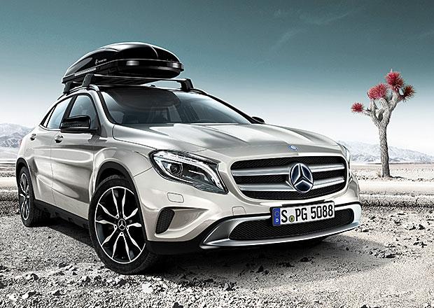 Mercedes-Benz rozšiřuje nabídku továrního příslušenství pro GLA