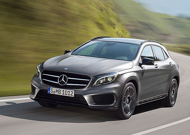 Mercedes-Benz GLA chce být malé, ale šikovné SUV