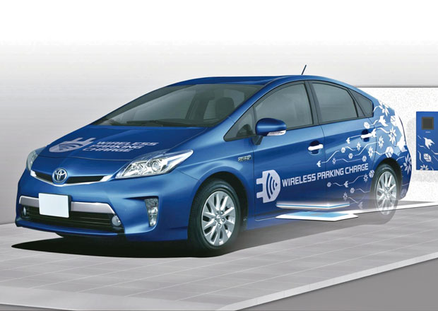 Toyota začne testovat bezdrátové dobíjení plug-in hybridu Prius