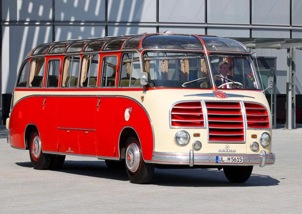 Klasické autobusy Setra míří na Retro Classics 2014
