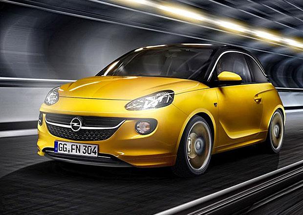 Opel Adam s tříválcem 1.0 SIDI nabídne dvě výkonové verze
