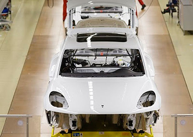 Porsche zahájilo výrobu modelu Macan