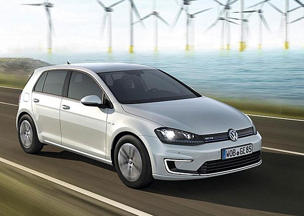 Elektromobil Volkswagen e-Golf jde do prodeje, stojí 956.000 Kč