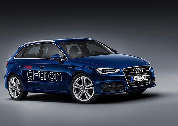 Audi A3 Sportback g-tron: První Audi na zemní plyn