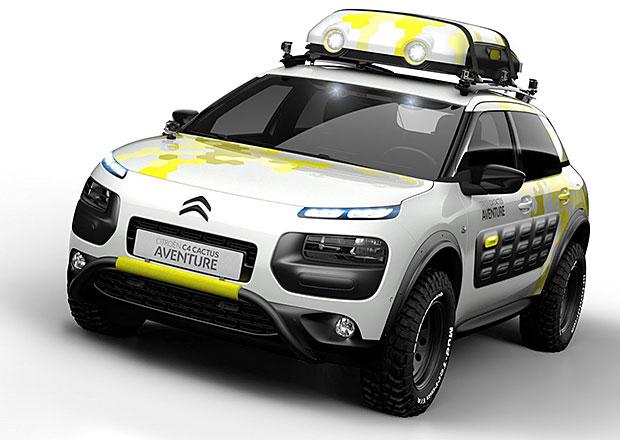 Citroën C4 Cactus Aventure: Ženevský drsňák