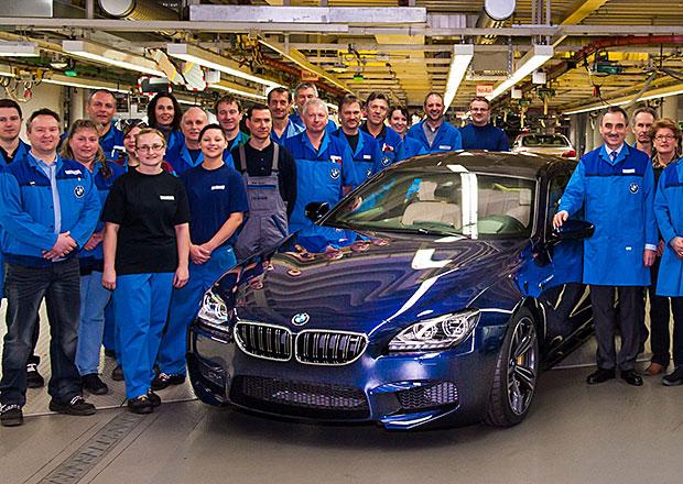 BMW vyrobilo v továrně Dingolfing již 9 milionů vozů, tím jubilejním je M6 Gran Coupé