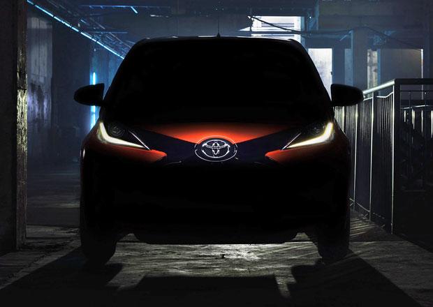 Nová Toyota Aygo na první fotografii (+video), premiéra v Ženevě