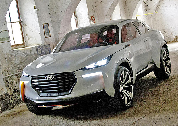 Hyundai Intrado: Vodíkový crossover s vizáží atleta
