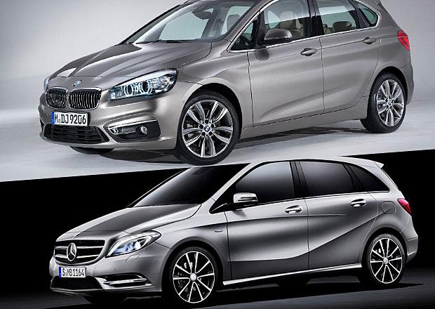 Designový duel: BMW 2 Active Tourer vs. Mercedes-Benz B