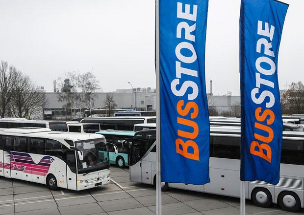 BusStore je továrním specialistou na ojeté autobusy Mercedes-Benz a Setra