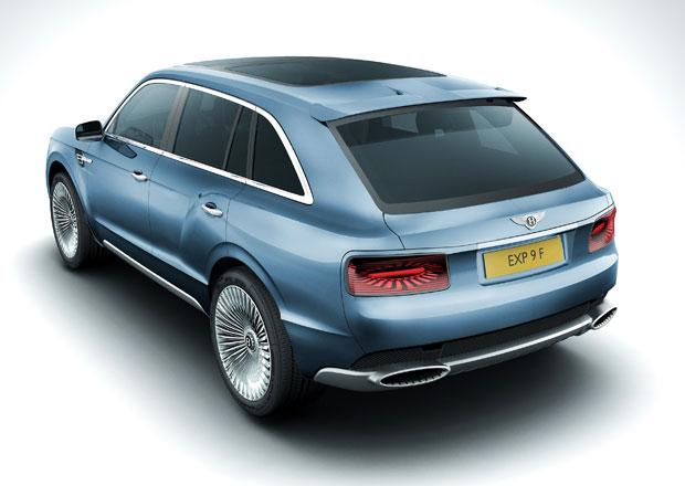 Bentley: Prvn� SUV doraz� v roce 2016