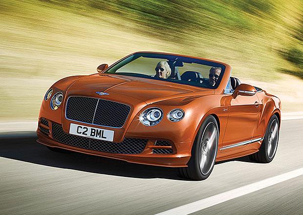 Bentley Continental GT Speed 2014: Superrychlý aristokrat je ještě silnější