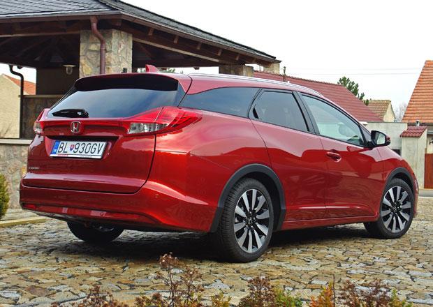 Honda Civic Tourer: První jízdní dojmy