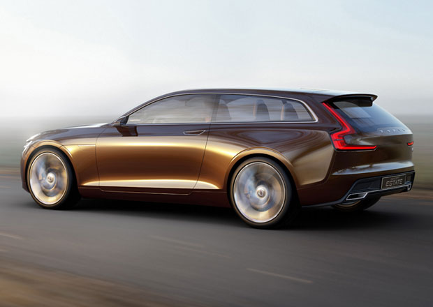 Volvo Concept Estate: Shooting Brake ze salonu krásy (+3x video)