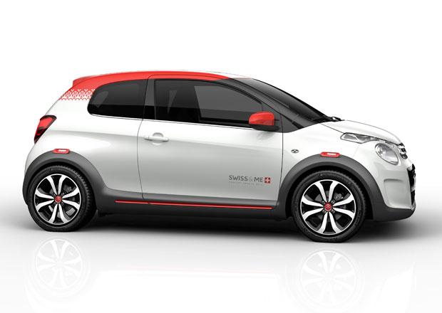 Koncept Citroën C1 Swiss & Me: Třídveřový pozdrav do Ženevy