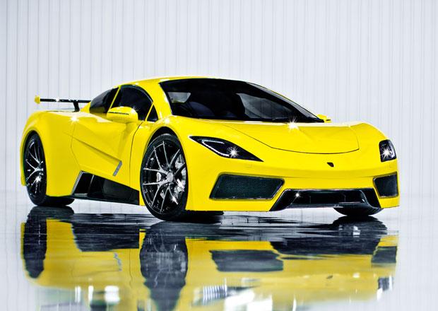 Arash AF8: Britský supersport se 7.0 V8 (410 kW)