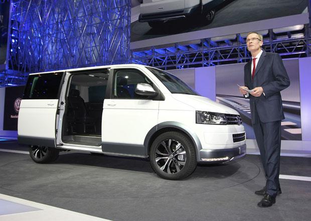 Volkswagen Multivan Alltrack: Oplastovaný luxusní cestovatel