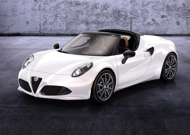 Alfa Romeo 4C Spider půjde do výroby příští rok