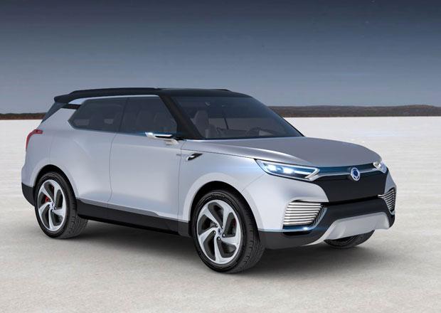 SsangYong XLV: Sedmimístný dieselhybrid z Koreje (+video)
