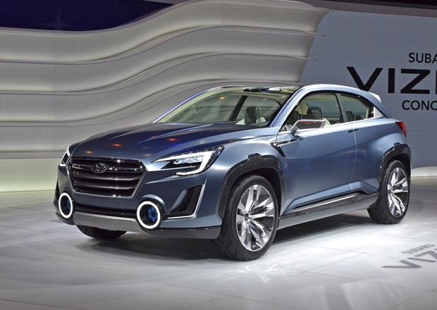 Subaru Viziv 2 Concept navazuje na dva předchůdce (+video)