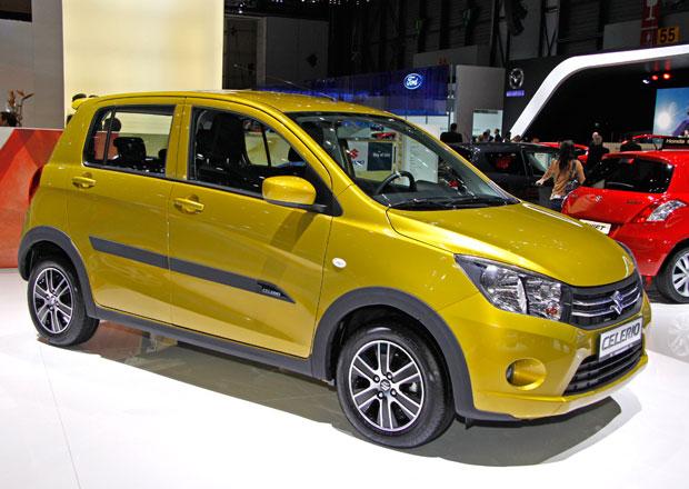 Suzuki Celerio s litrovým motorem dosáhne spotřeby 3,7 l/100 km