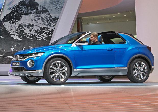 Koncept Volkswagen T-Roc míří do nových segmentů
