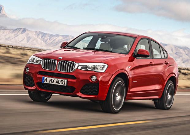 BMW X4: X-trojka pro extroverty m� a� 230 kW
