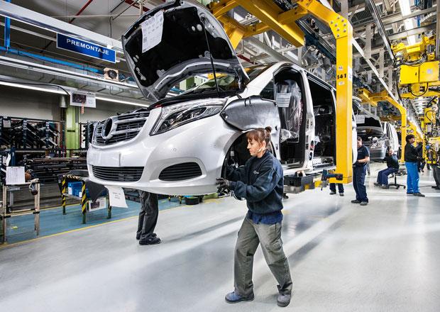 Mercedes-Benz zahájil sériovou výrobu třídy V