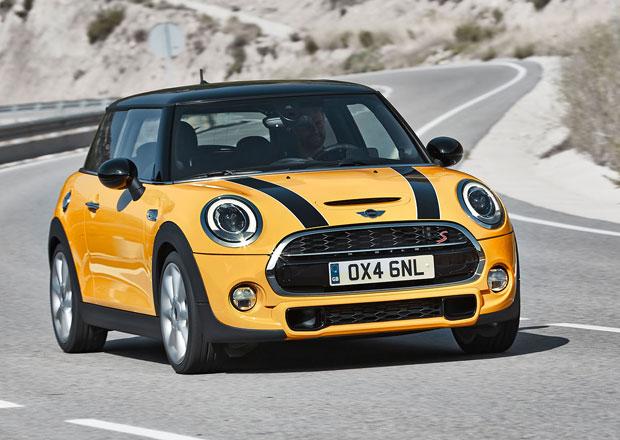 Nové Mini stojí od 447.500 Kč, nejlevnější diesel je za 492.500 Kč