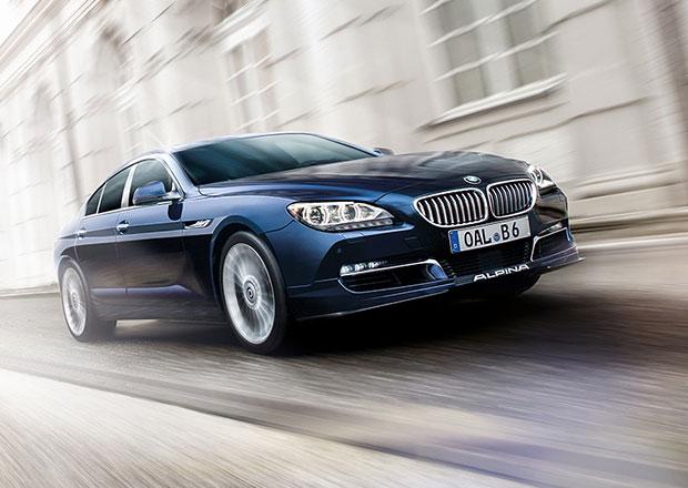 Alpina B6 Gran Coupe jede až 318 km/h a na stovku zrychlí za 3,9 s