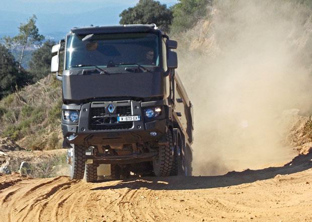 Jízdní dojmy: Renault Trucks C a K - Skupina odolných