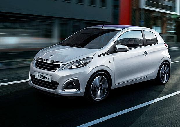 Peugeot 108: Ve Francii od 10.150 eur (277.800 Kč)