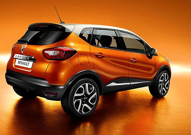 Renault opět zvyšuje výrobu modelu Captur