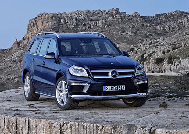 Mercedes-Benz GL dostane v roce 2018 dva rozdílné rozvory