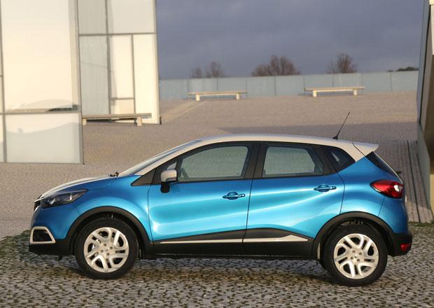 Renault Captur: Většina českých zákazníků bere vrchol a dvoubarevnou karoserii