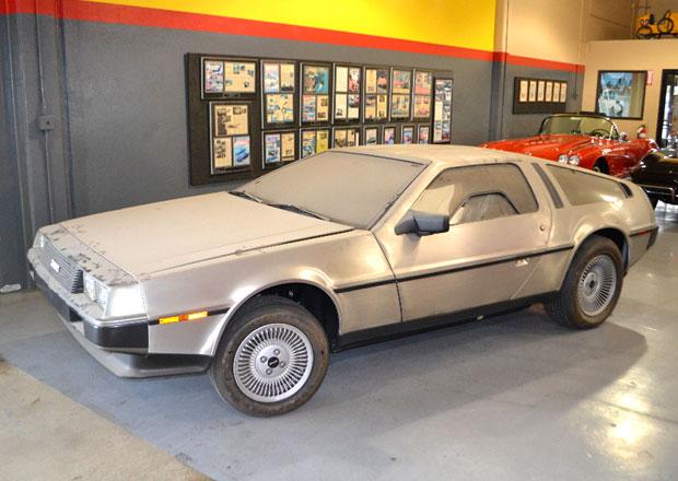 DeLorean DMC-12 jako časová schránka