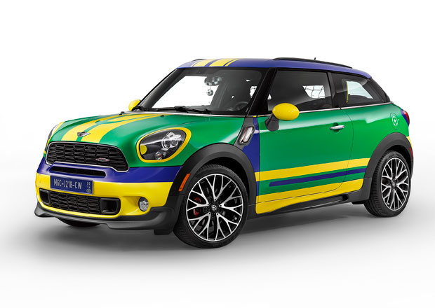 Mini Paceman GoalCooper Edition: Nov� �len fotbalov�ho t�mu