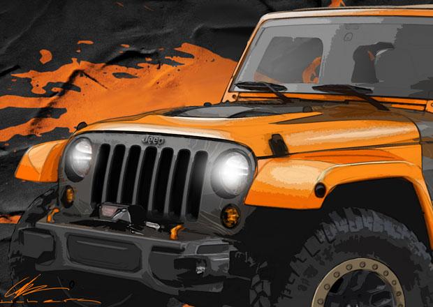 Jeep odhaluje první koncepty pro Moab Easter Jeep Safari 2014