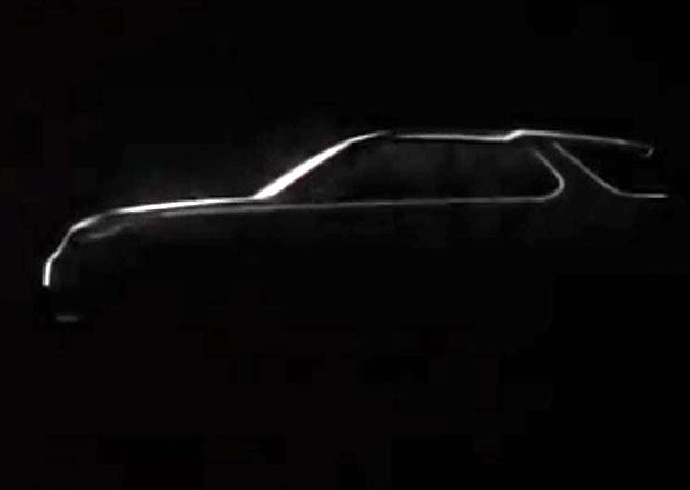 Land Rover Discovery Vision: Předzvěst nového Discovery se ukáže v New Yorku