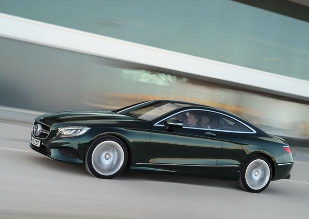 Mercedes-Benz S 500 Coupé 4Matic a S 63 AMG 4Matic: Ceny od 3,46 milionu Kč
