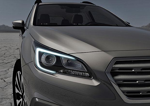 Nov� Subaru Outback se odhaluje na prvn�m sn�mku