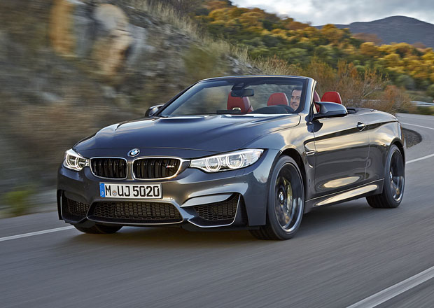 BMW M4 Cabrio: 431 koní v otevřené karoserii