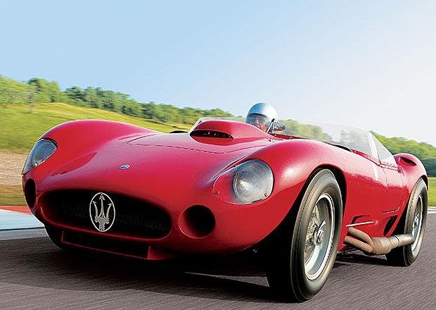 Maserati 450S: Sporťák Stirlinga Mosse na prodej za 110 milionů korun