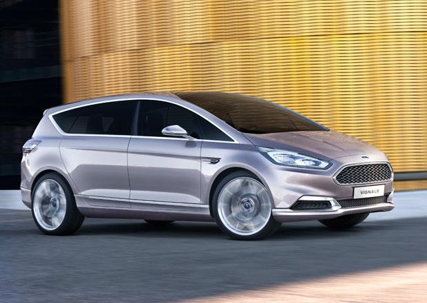 Ford S-Max Vignale: Luxusní MPV se odhaluje, počítá se s jeho výrobou
