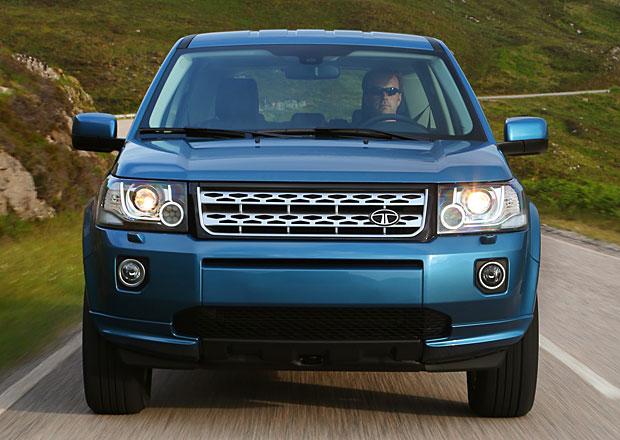 Tata použije techniku Land Roveru Freelander pro svůj model