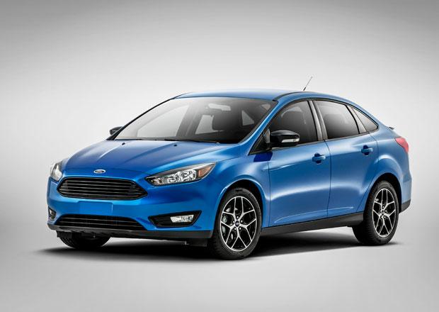 Ford Focus Sedan: Facelift představen v předstihu před NY Auto Show